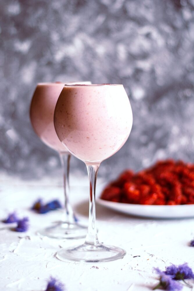 Pomegranate Yogurt Smoothie